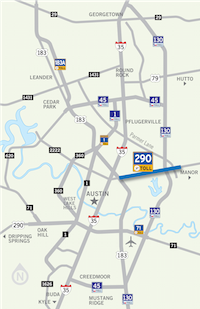Toll Road - Map of us toll roads