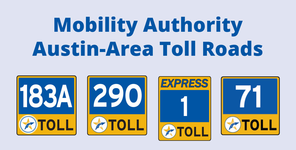 Mobility Authority Tolling Information - 183a toll road map