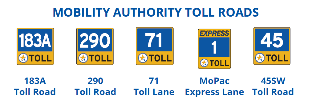 Mobility Authority Tolling Information