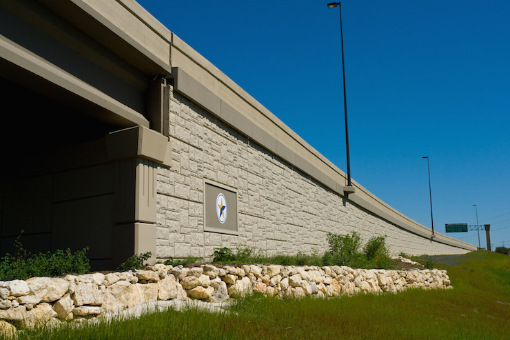 183A Overpass Headed North South of Brushy Creek